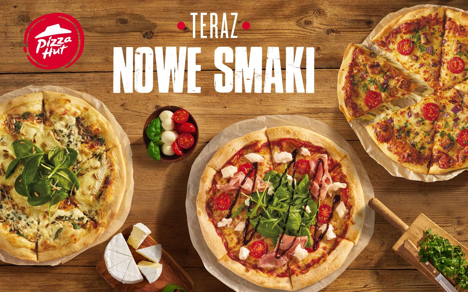 Pizza Hut Nowe Smaki