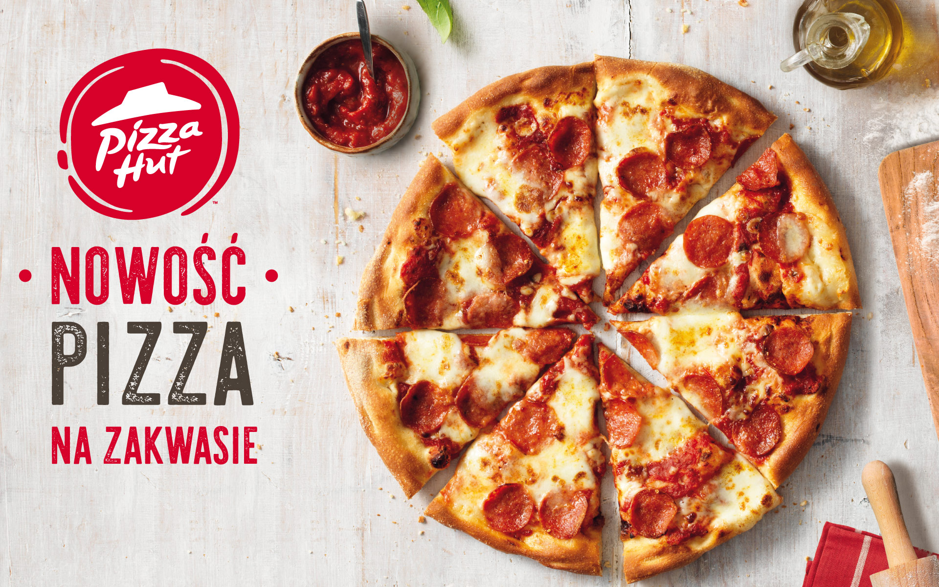 Pizza Hut – pizza na zakwasie