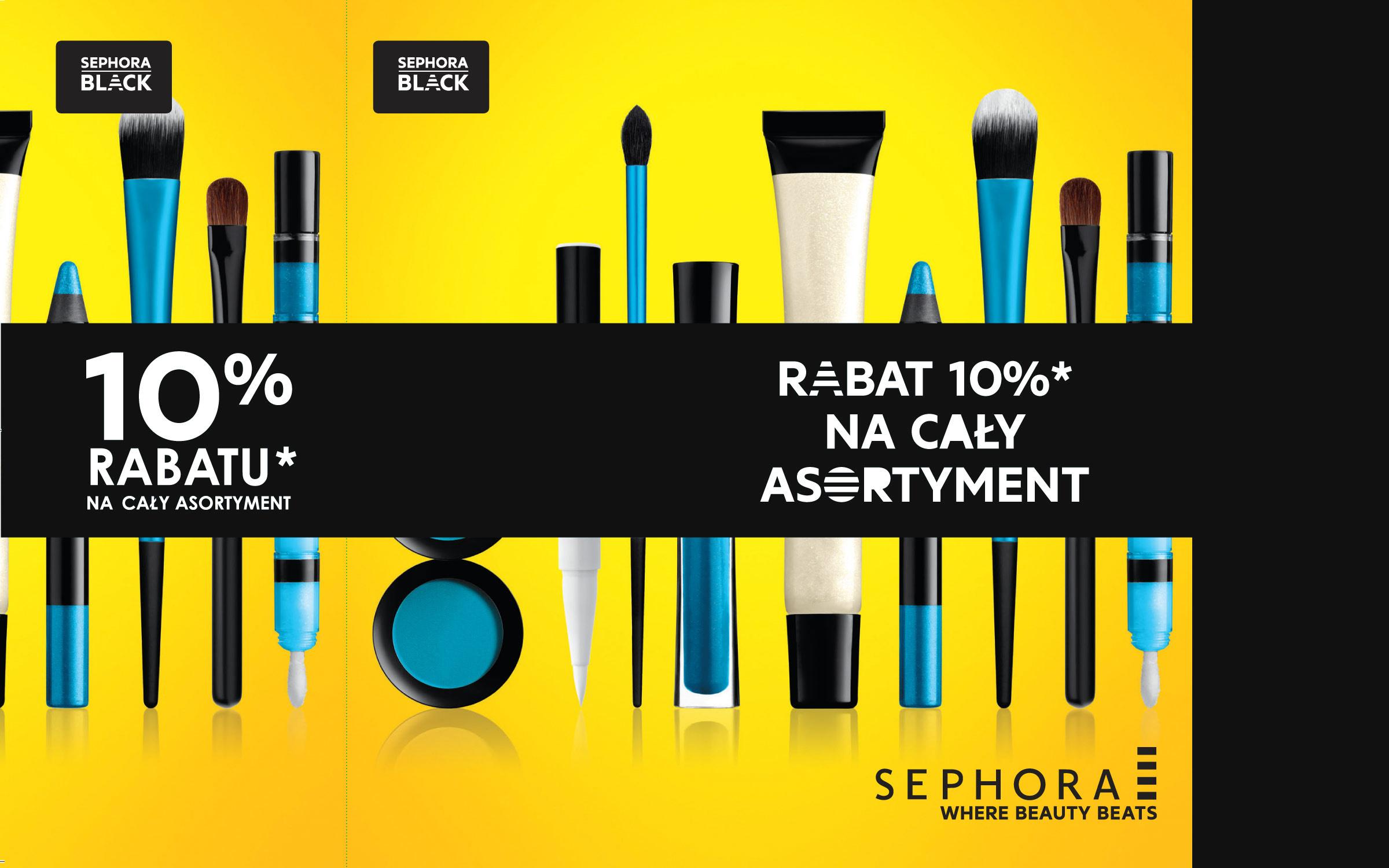 Sephora – ulotka