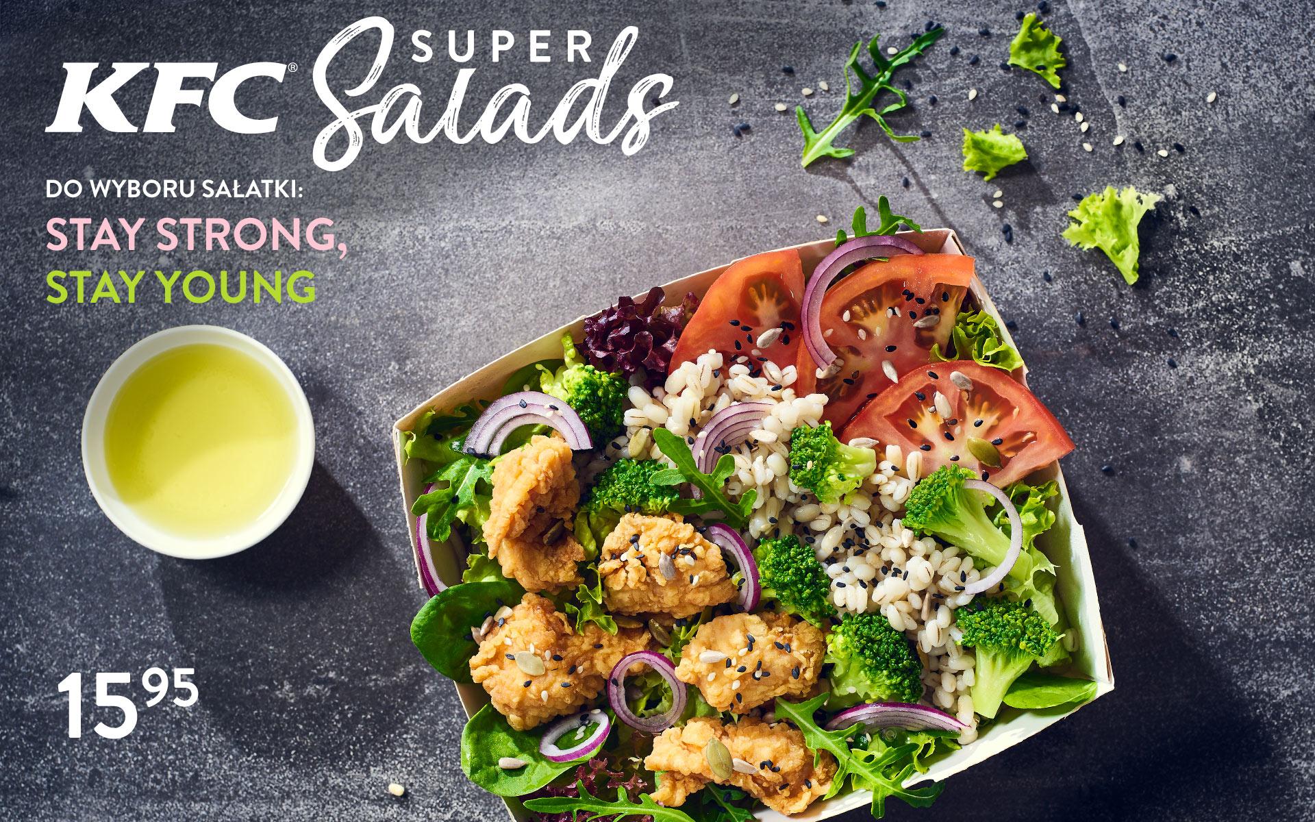 KFC Super Salads