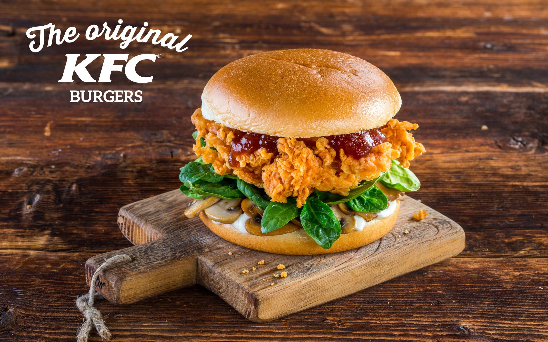 KFC Original Burgers