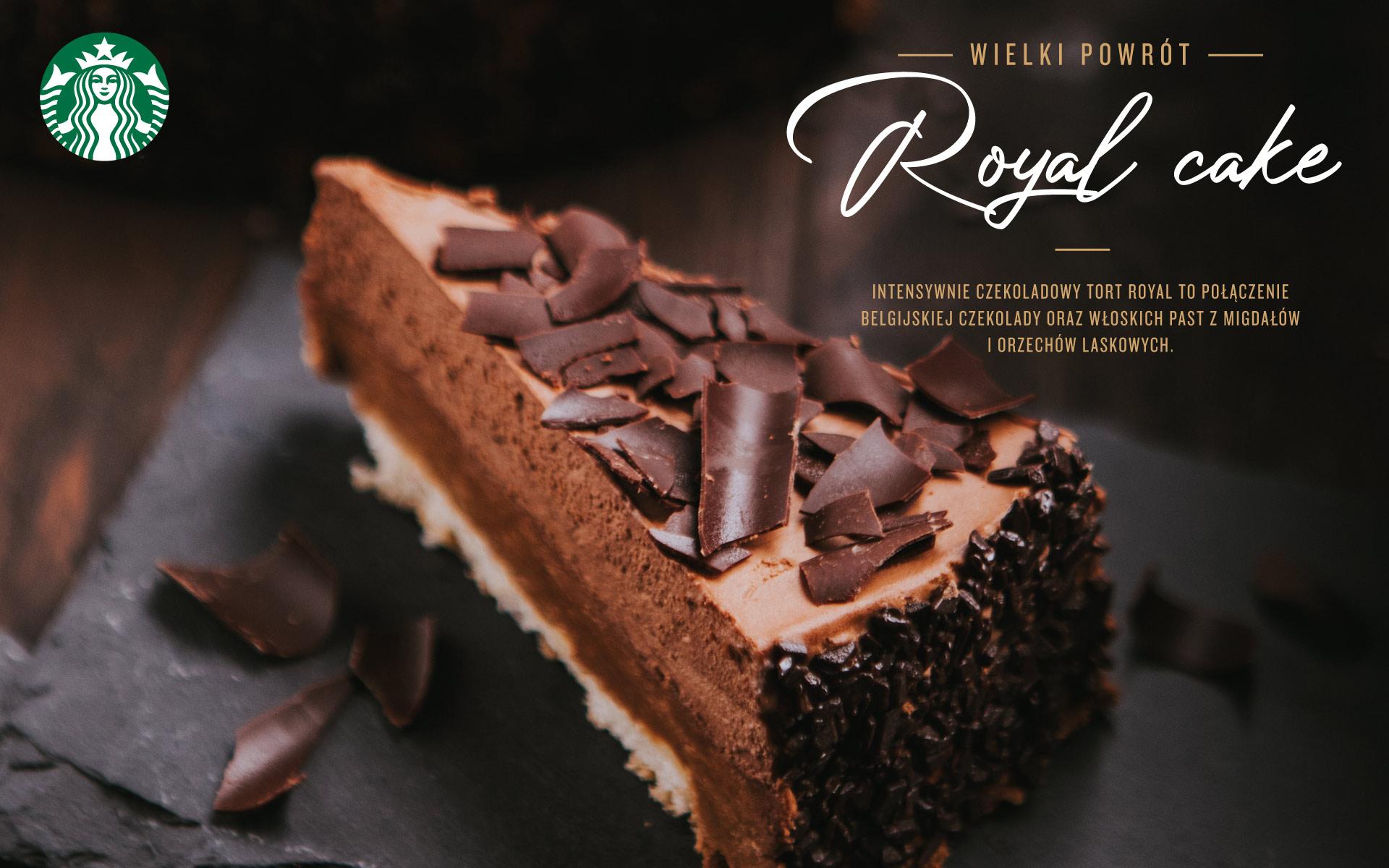 Starbucks Royal cake